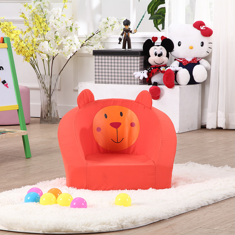Kids All Foam Sofa Chair Living Room Furniture Baby Sofa