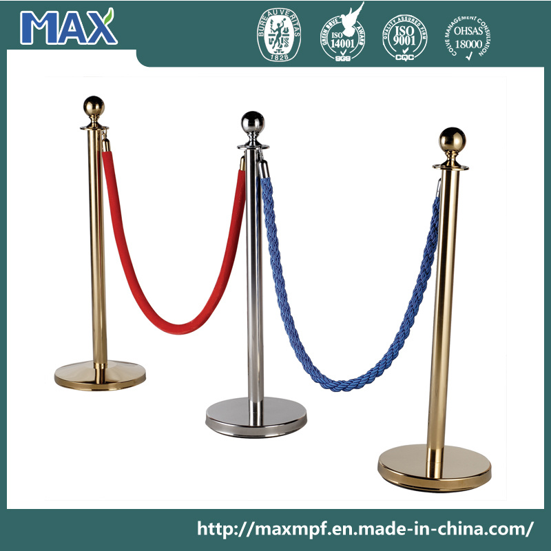 Velvet Ribbon Tape Polypropylene Braided/Twisted Rope for Crowd Control Barrier
