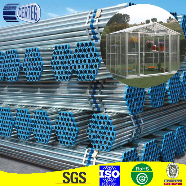3inch Round Hot Dipped Galvanized Welded Steel Pipe for Construction (GP-2)