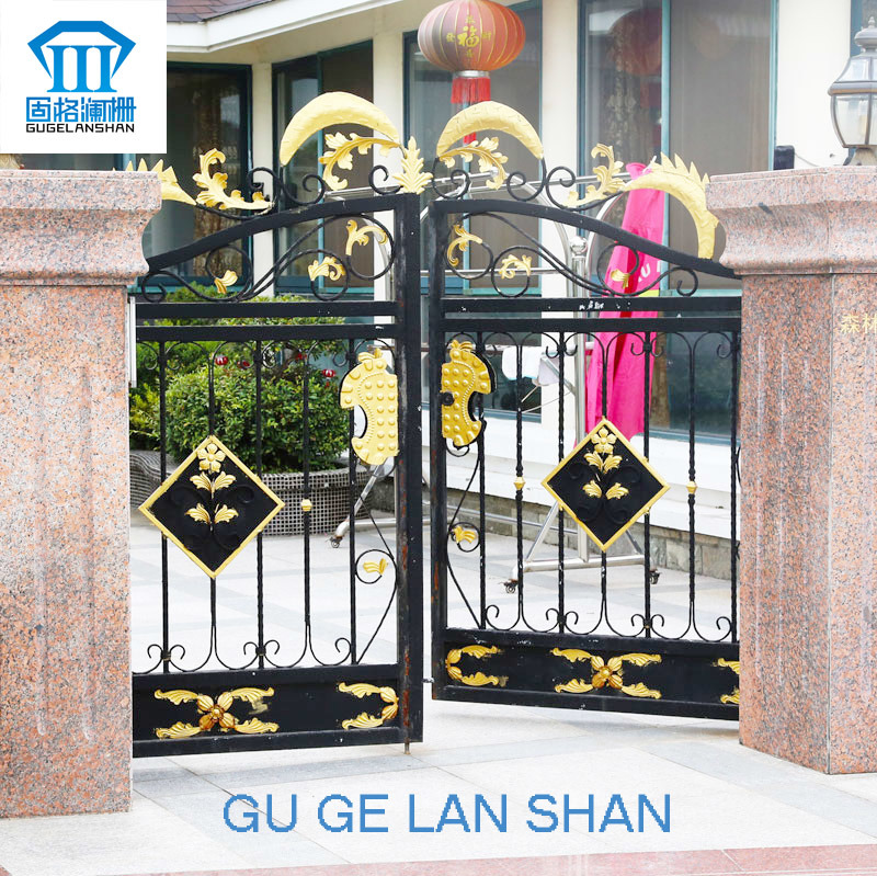 High Quality Crafted Wrought Iron Gate 017
