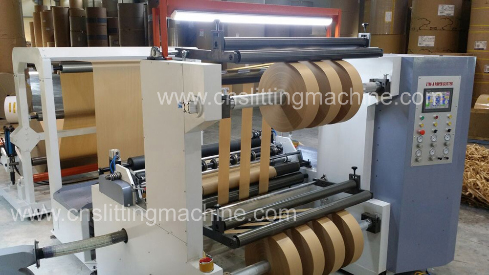 Jumbo Paper Roll Slitting Machine (ZTM-A)