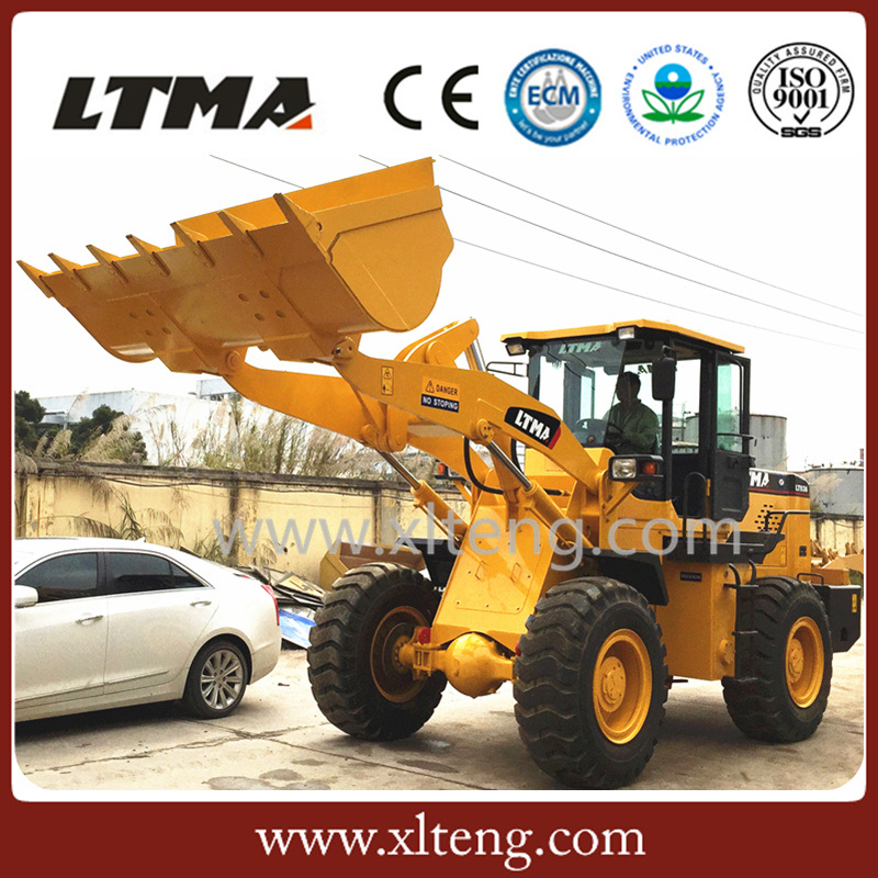 Ltma New 3 Ton Mini Articulated Wheel Loader Price