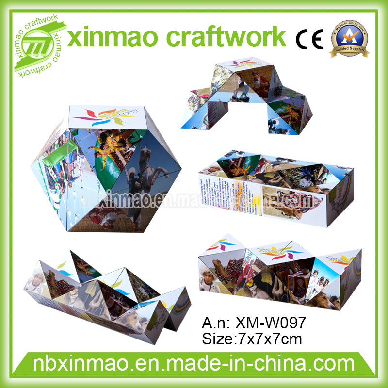 7cm Diamond Shape Magic Cube with Magnetic for Promo