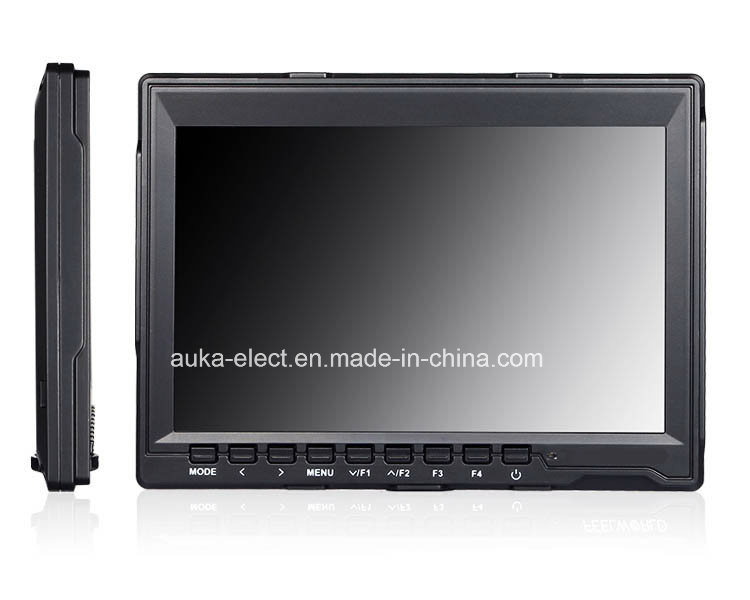 "7"" IPS Ultra-Thin HDMI on-Camera Field Monitor with Peaking Focus"