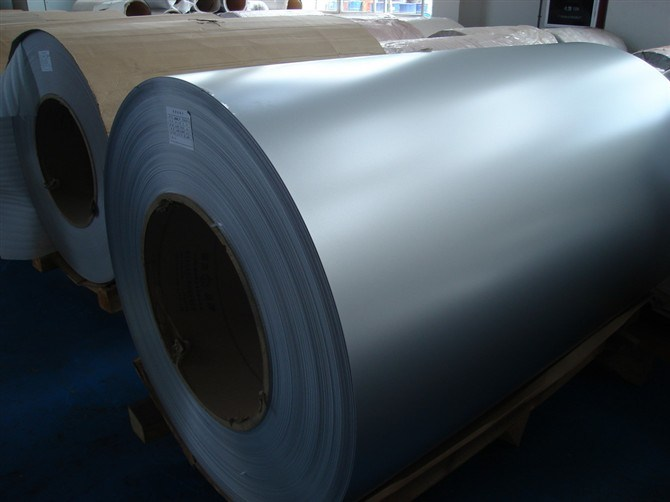 Hot Dipped 55% Aluzinc Coated Galvalume Steel Coil G550
