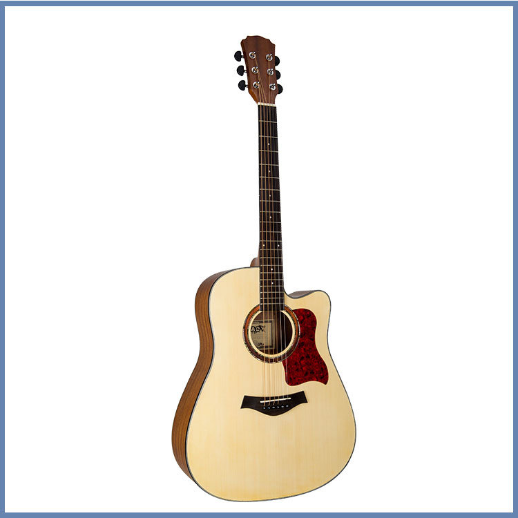 High Quality Solid Acoustic Guitar