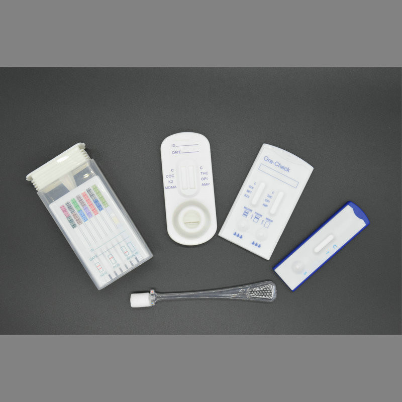 10 Panel Instant One Step Oral Cube Swab Drug Test Kit