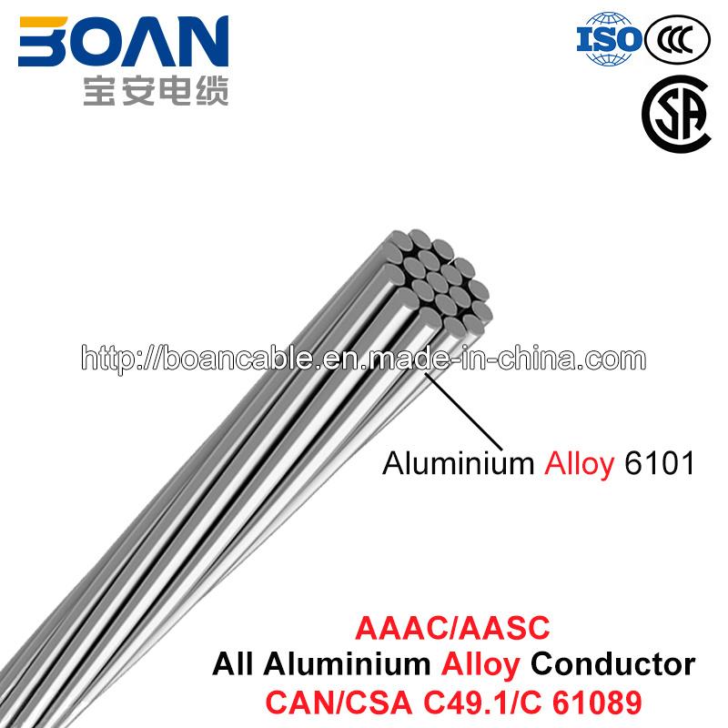 AAAC/Aasc Conductor, All Aluminum Alloy Conductor (CAN/CSA CS 49.1)