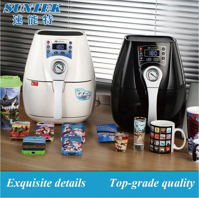 3D Mini Sublimation Vacuum Heat Press Transfer Printing Machine (ST-1520)
