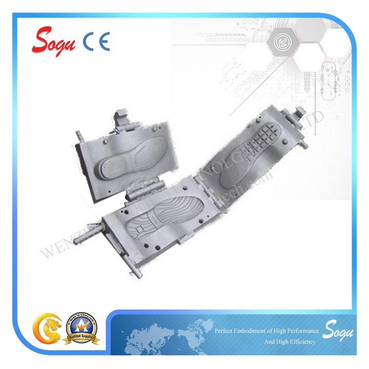 Three-Times Type Shoe Outsole TPR Mould