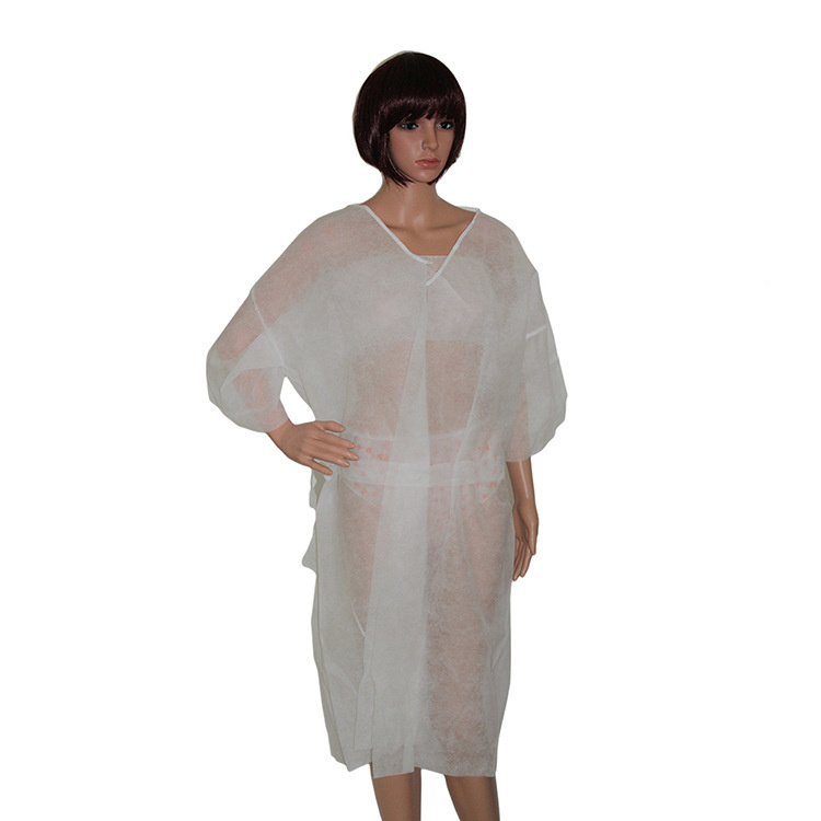 White Disposable SPA Robe Bulk Cheap