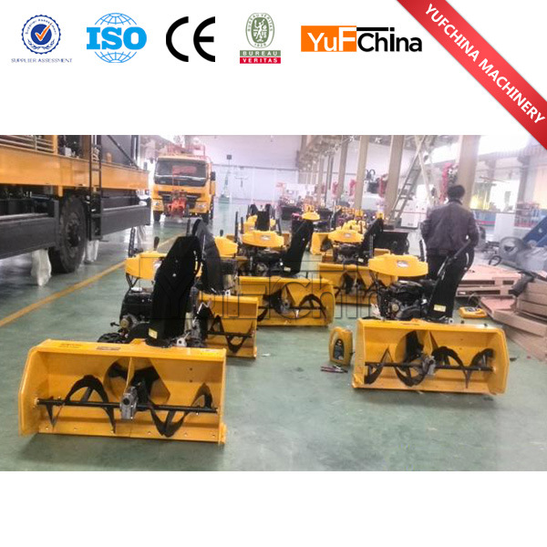 Hot Sale Gasoline 6.5HP Snow Sweeper Blower