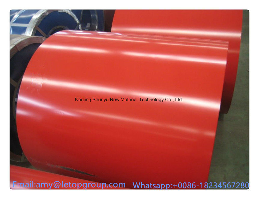 Aluzinc Coated Galvanized Steel Coil/Prepainted Steel Roofing Sheet