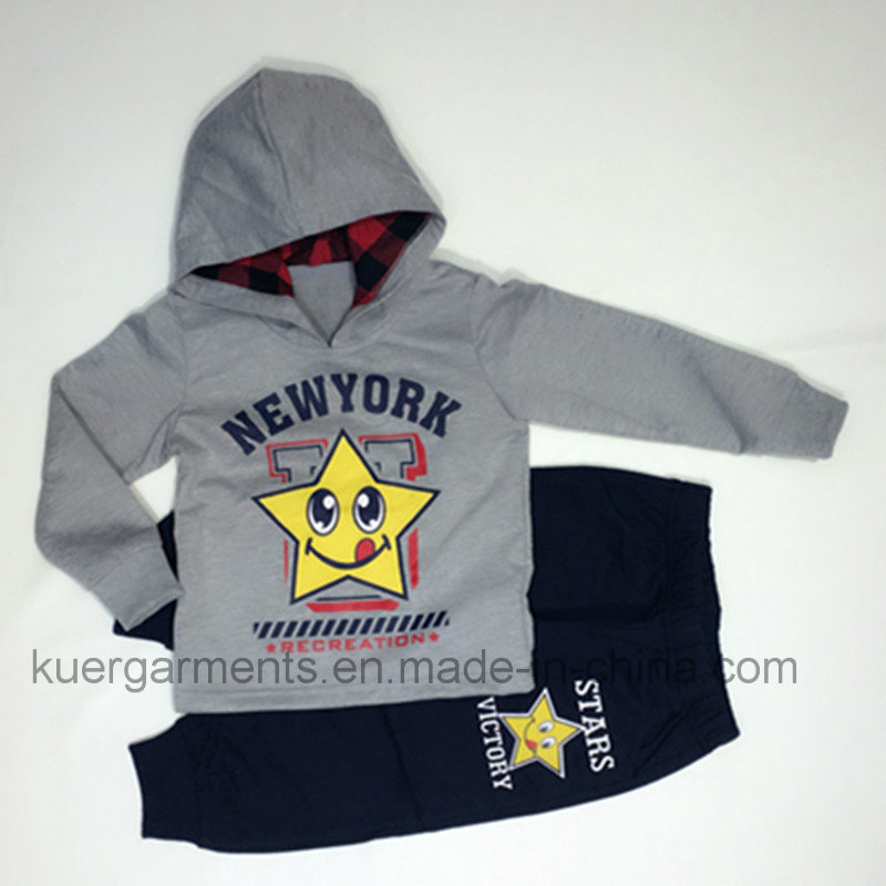 Hot Sale Boy Sports Suit Fashion Kids Clothes