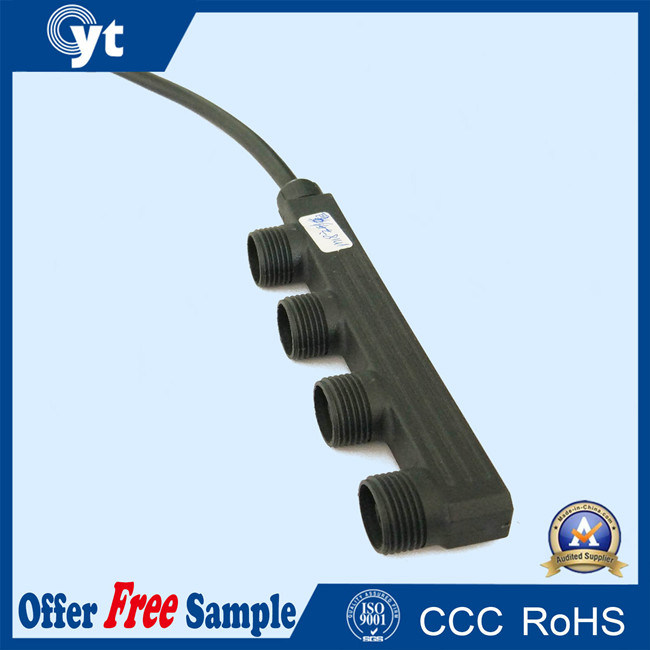 1 Input 4 Outputs IP68 Wire Splitter LED Lights Connector