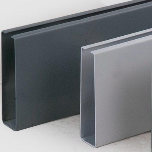 Aluminum U Profile Baffle Suspended Ceiling with Fashioned Design