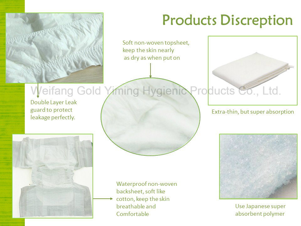 OEM Adult Diaper Brief China Supplier Manufacturer High Absorption Quality Wholesale Nappies