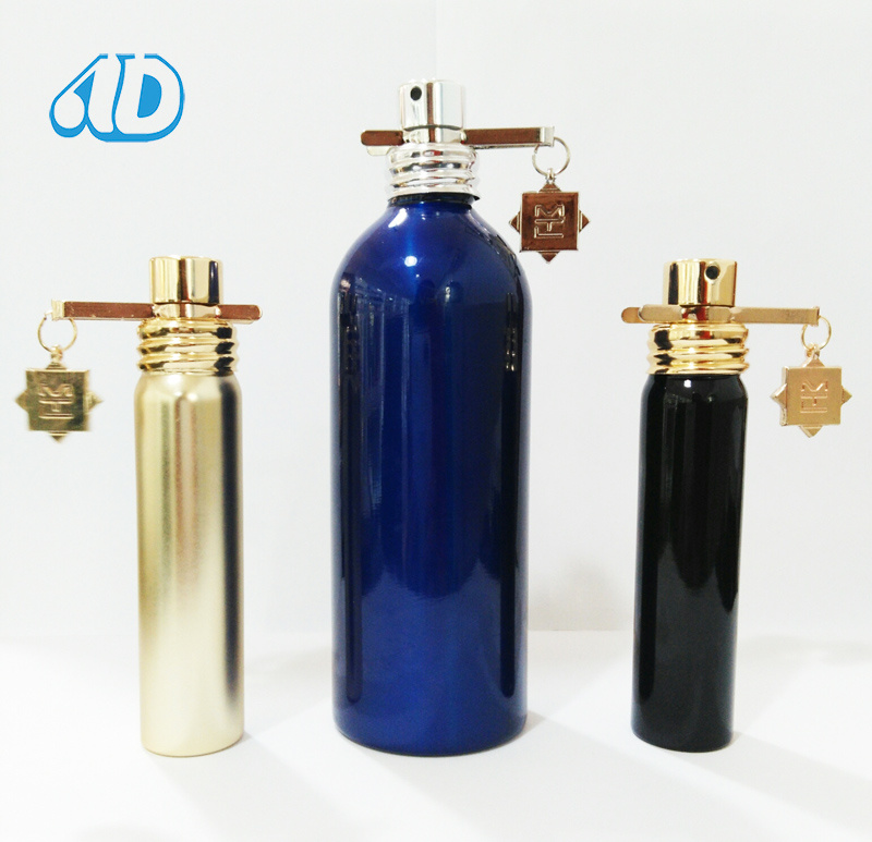 Ad-P410 Cylinder Color Spray Perfume Glass Bottle