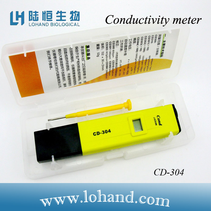 Hand Held Industrial Digital Pen-Type Conductivity Meter (CD-304)