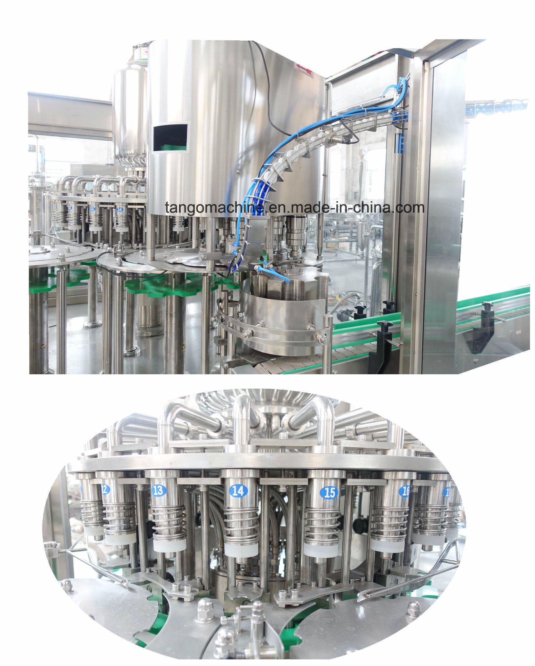 Juice Complete Processing Mono-Bloc Bottling Filling Machine for Orange Mango Apple Pineapple