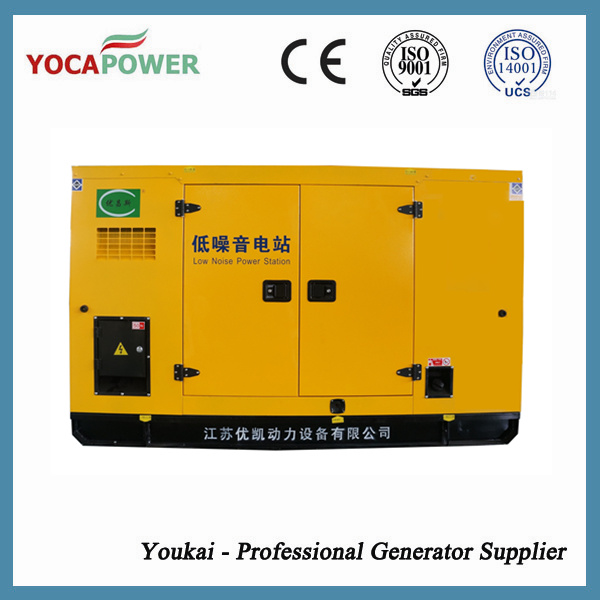 37.5kVA Soundproof Electric Generator with 4-Stroke Diesel Engine