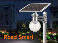 Remote Control All in One Outdoor Integrated LED Solar Lamp