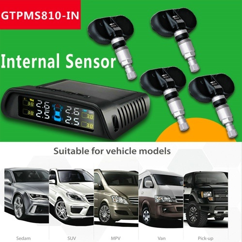 Internal Sensor TPMS for Car by Solar Energy