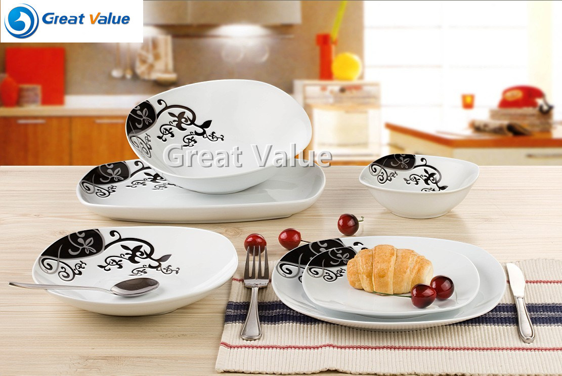 20PCS European Style Ceramic Dinner Set