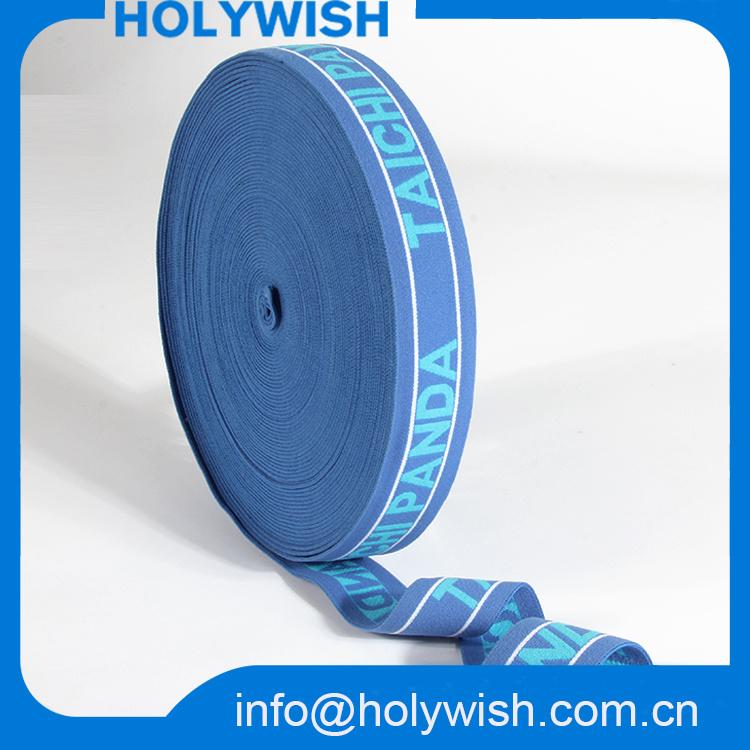 Custom Belt Elastic Band Ribbon Polyester//Polypropylene Jacquard Webbing
