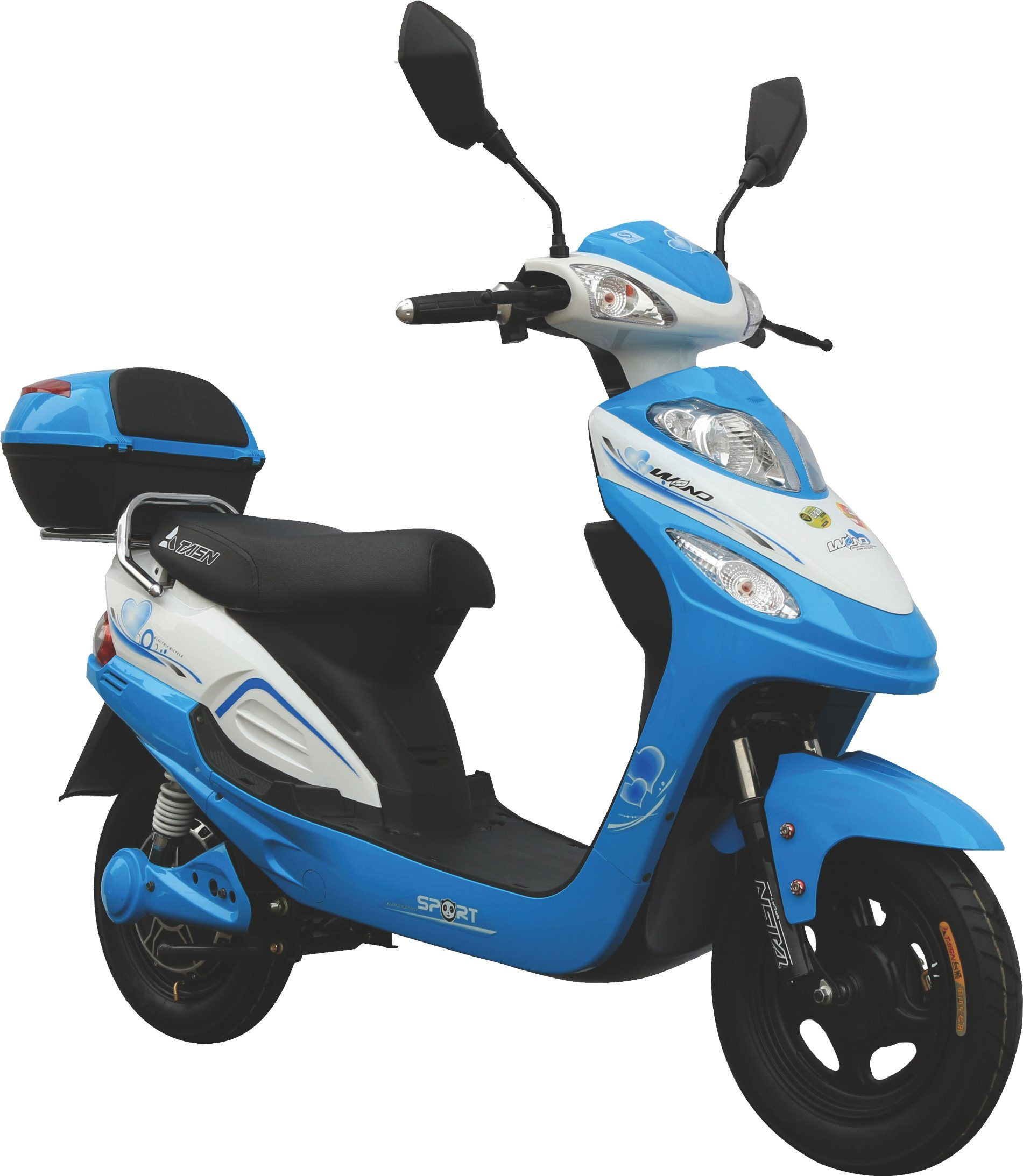 2017 Lady Model 350W Rang 40km Electric Scooter for Sale