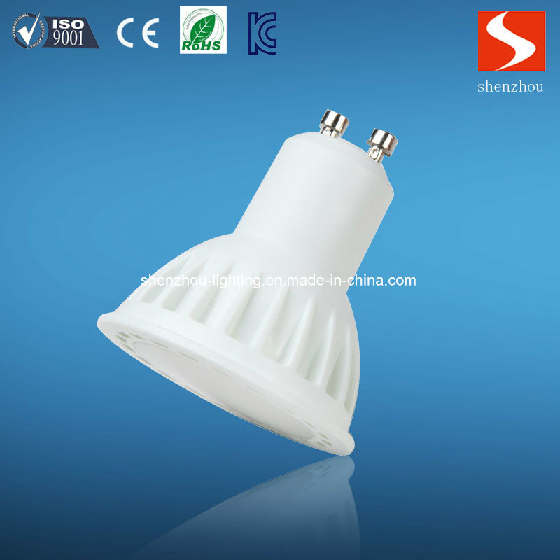 5W COB LED Spotlight with GU10 E27 MR16
