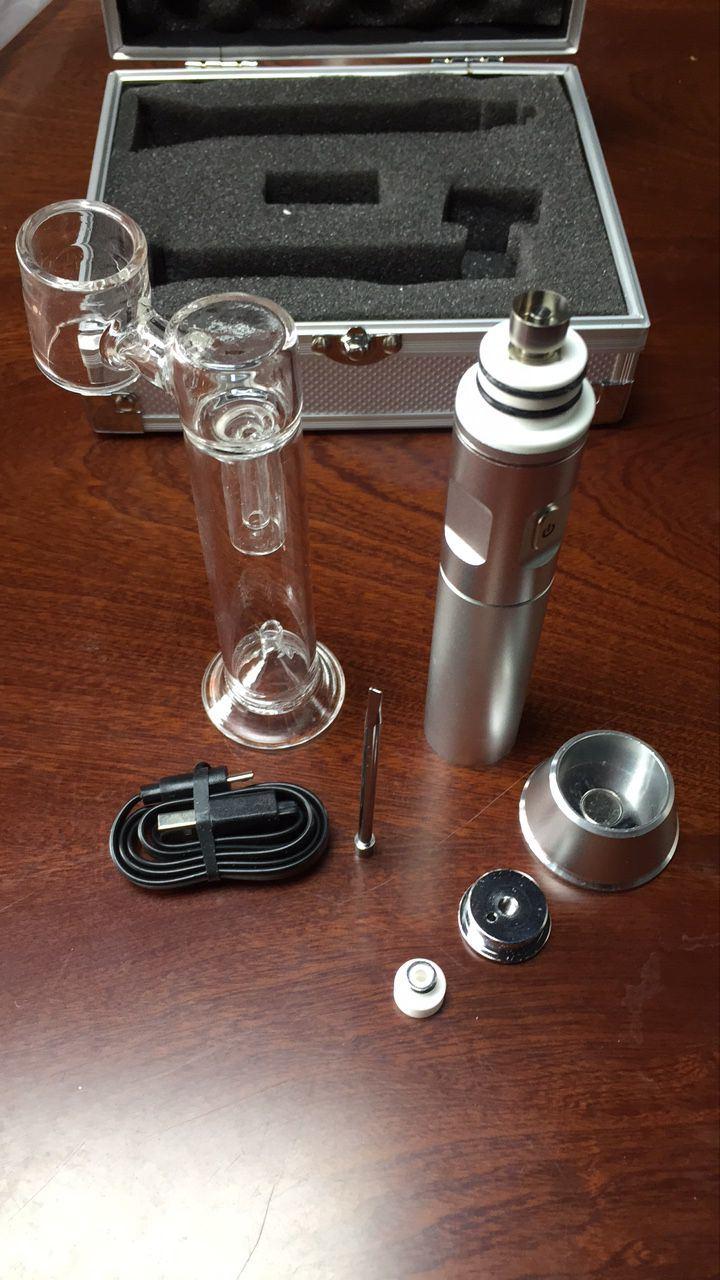 Electronic Cigarette Box Metal and Glass E-Cigarette
