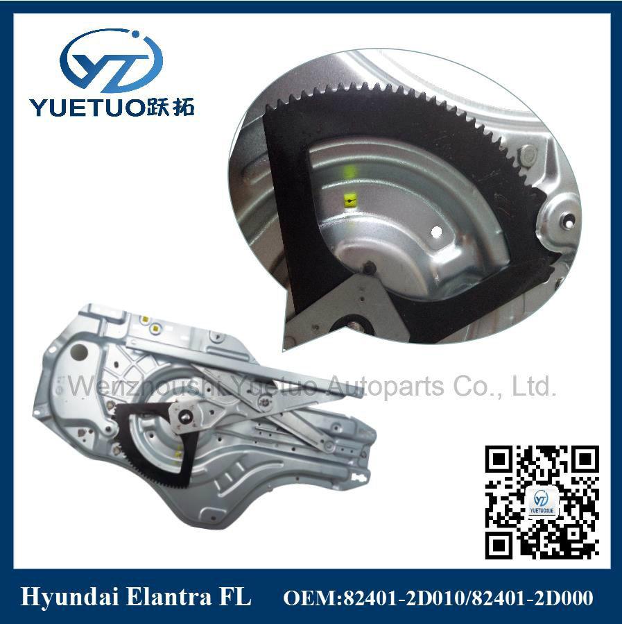 Hyundai Car Electric Window Lifter Elantra Front Left 82401-2D000