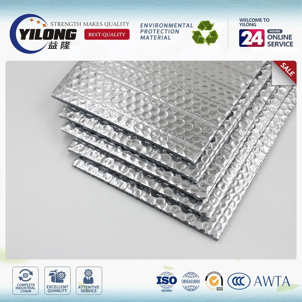 Fireproof Class Aluminum Foil Bubble Heat Resistance Insulation Material