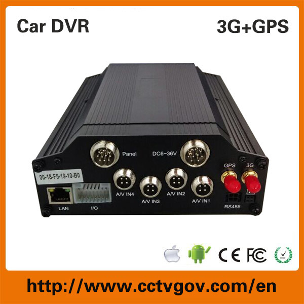 4G Car Mobile DVR Security GPS Tracking Systems for Fleet Management