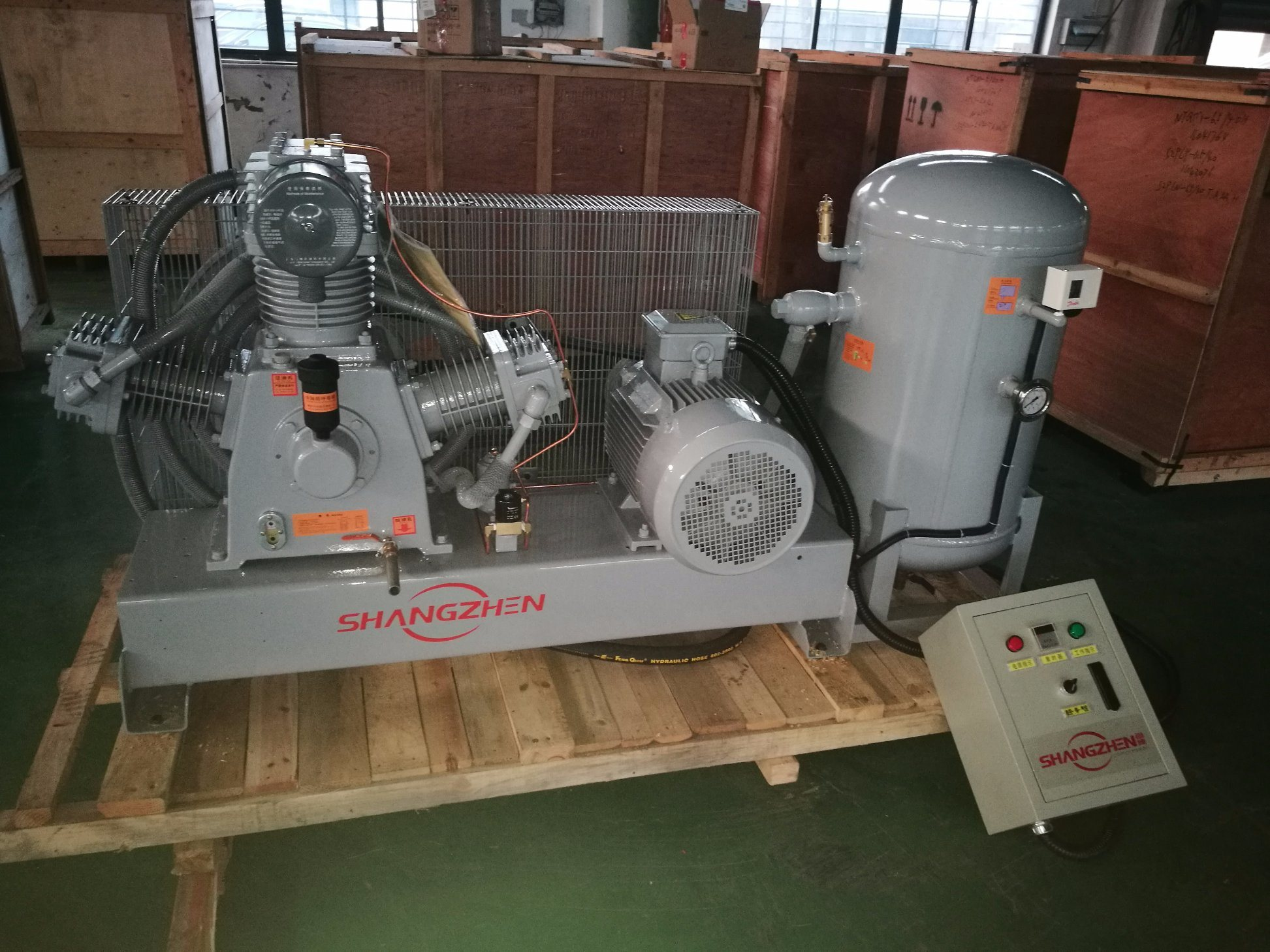 Air Compressor for Laser Industry