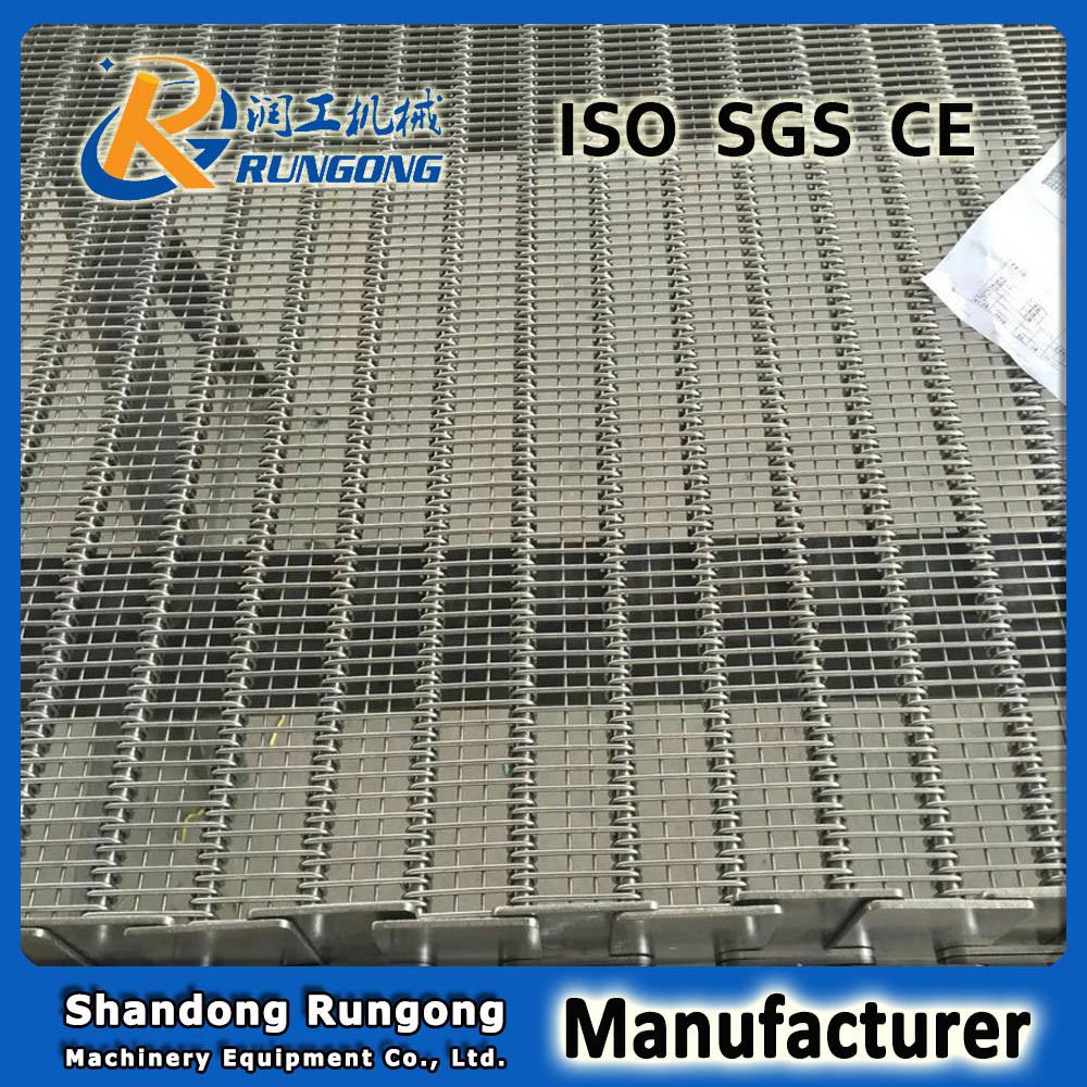 Eye Flex Conveyor Belting with Underside Welded Wires