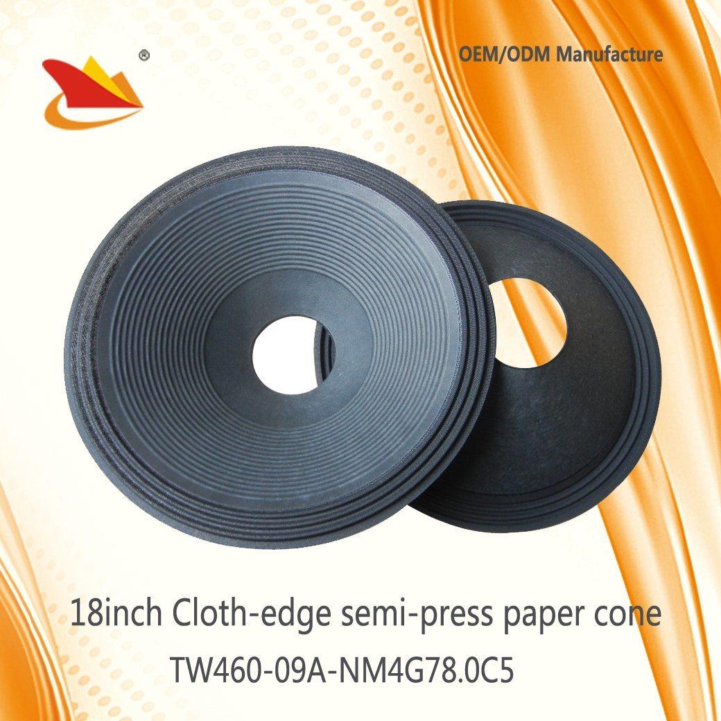 High Quality Speaker Parts 18inch PA Papar Cone - Speaker Cone