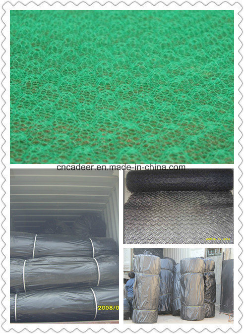 Geomat, Green Mat, 3D Geomat, Geomat for Slope Protection and Erosion Control