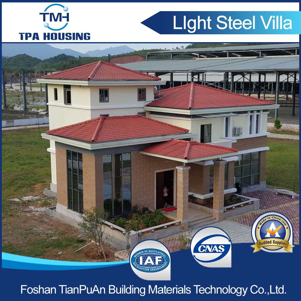 2 Floor Steel Structure Modular House in The Countryside