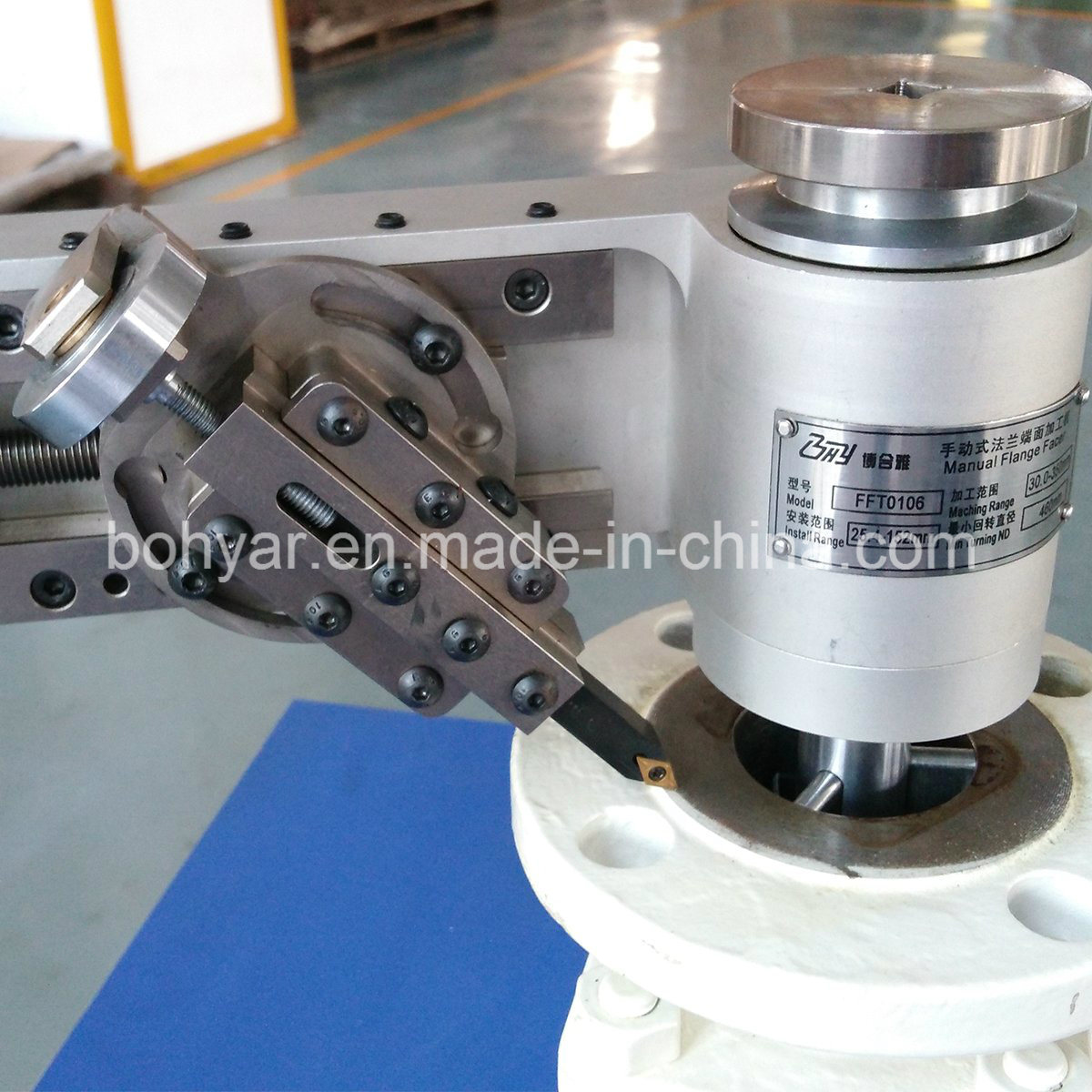 Manual Flange Facing Machine (FFT106)