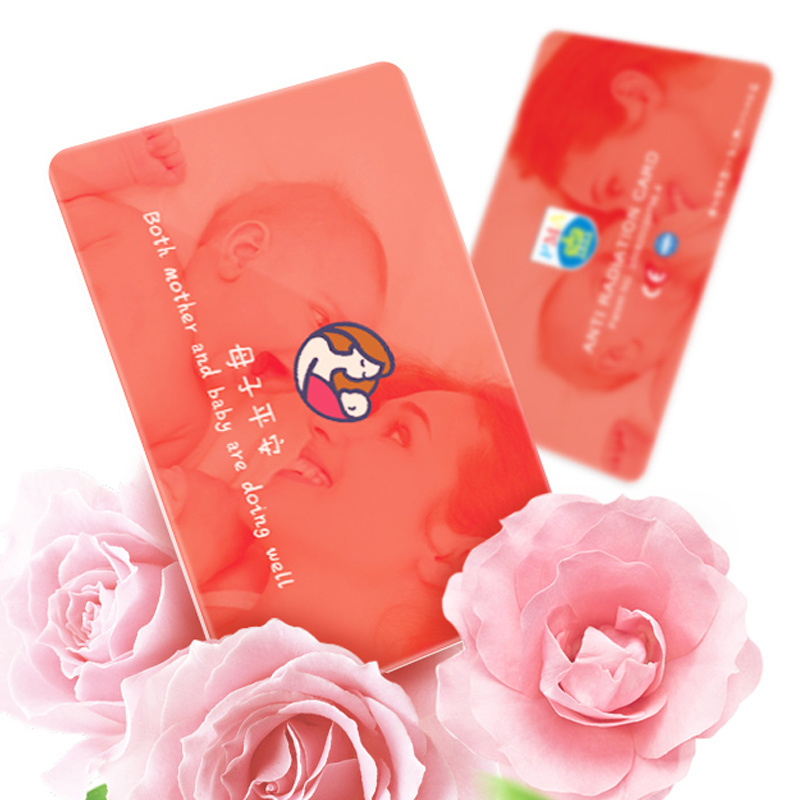 Pma 2017 Anti-Radiation Card Protect Mummy and Baby From Emr