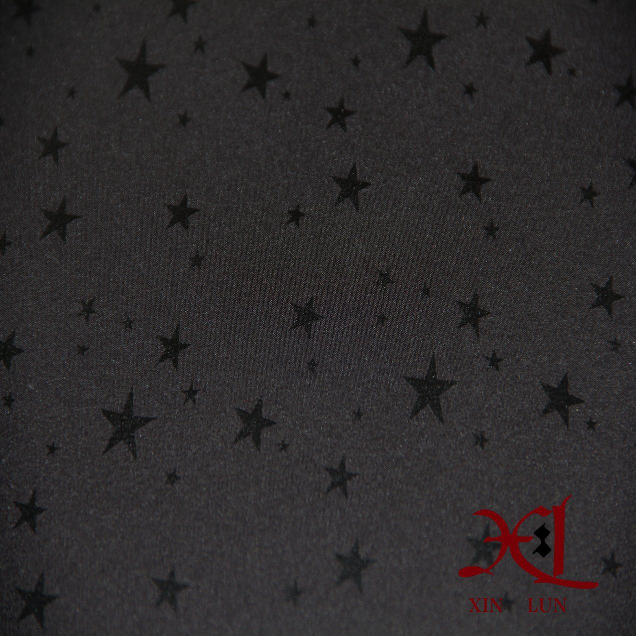 Waterproof Star Print TPU Coated Composite Fabric for Windbreaker/Ski Suit