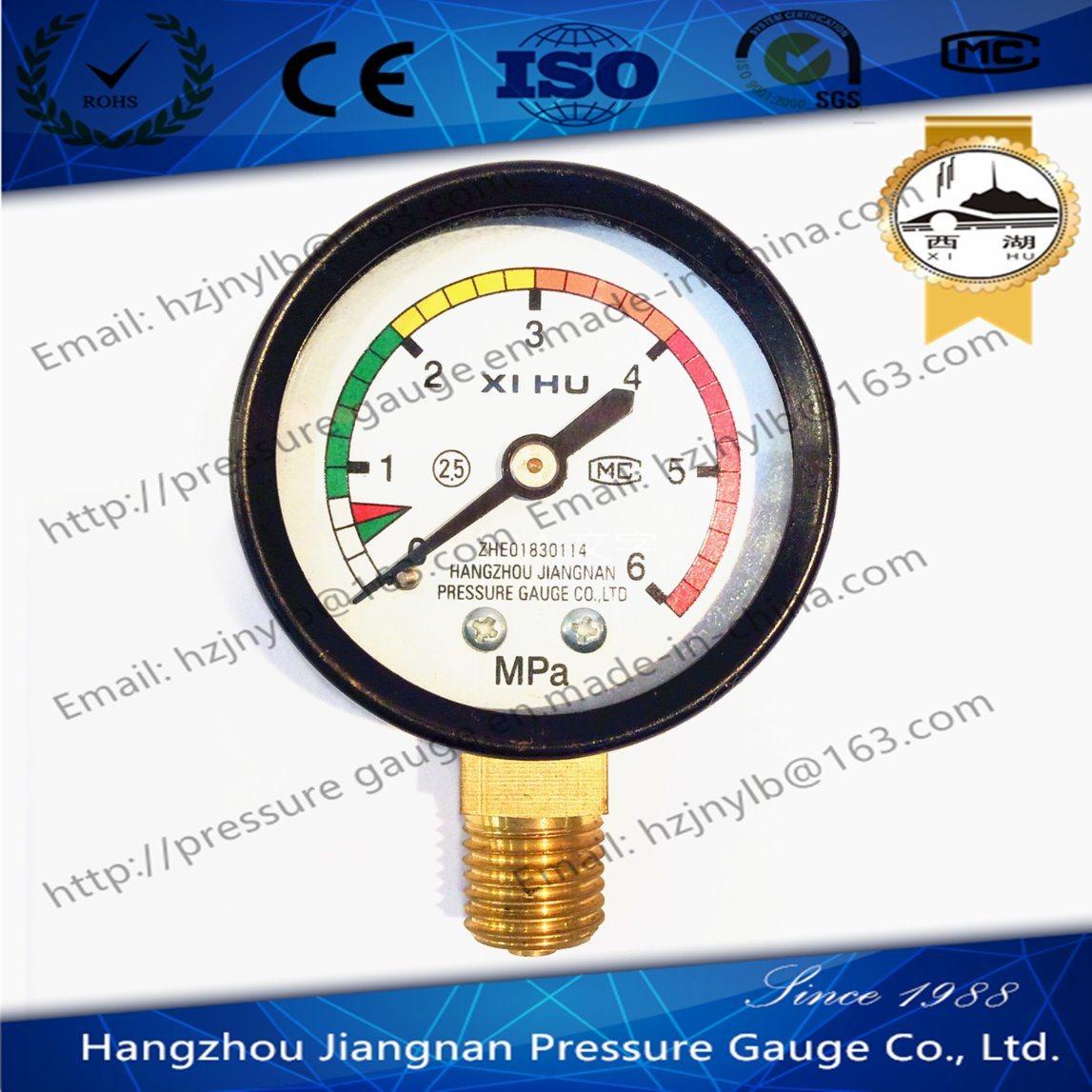 50mm 2′′ High Quality General Pressure Gauge-Air Pressure Gauge