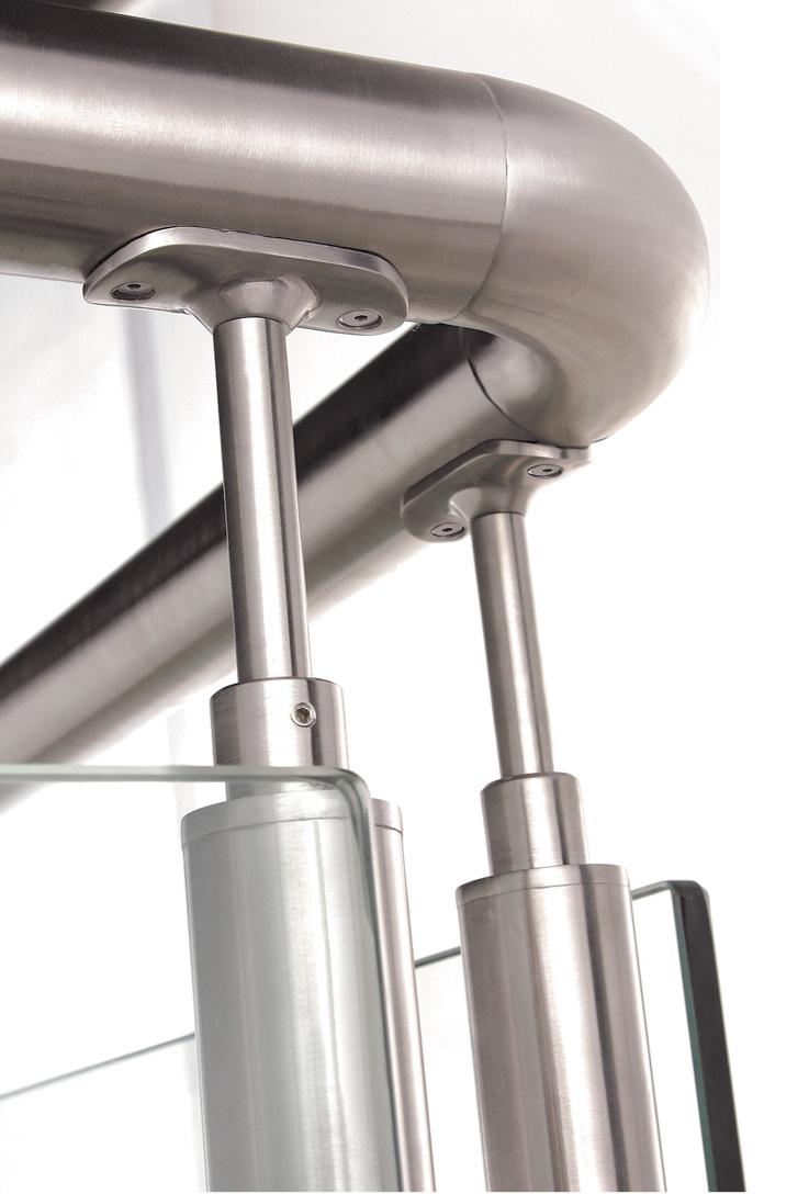 Stainless Handrail Fittings for Handrail Bracket