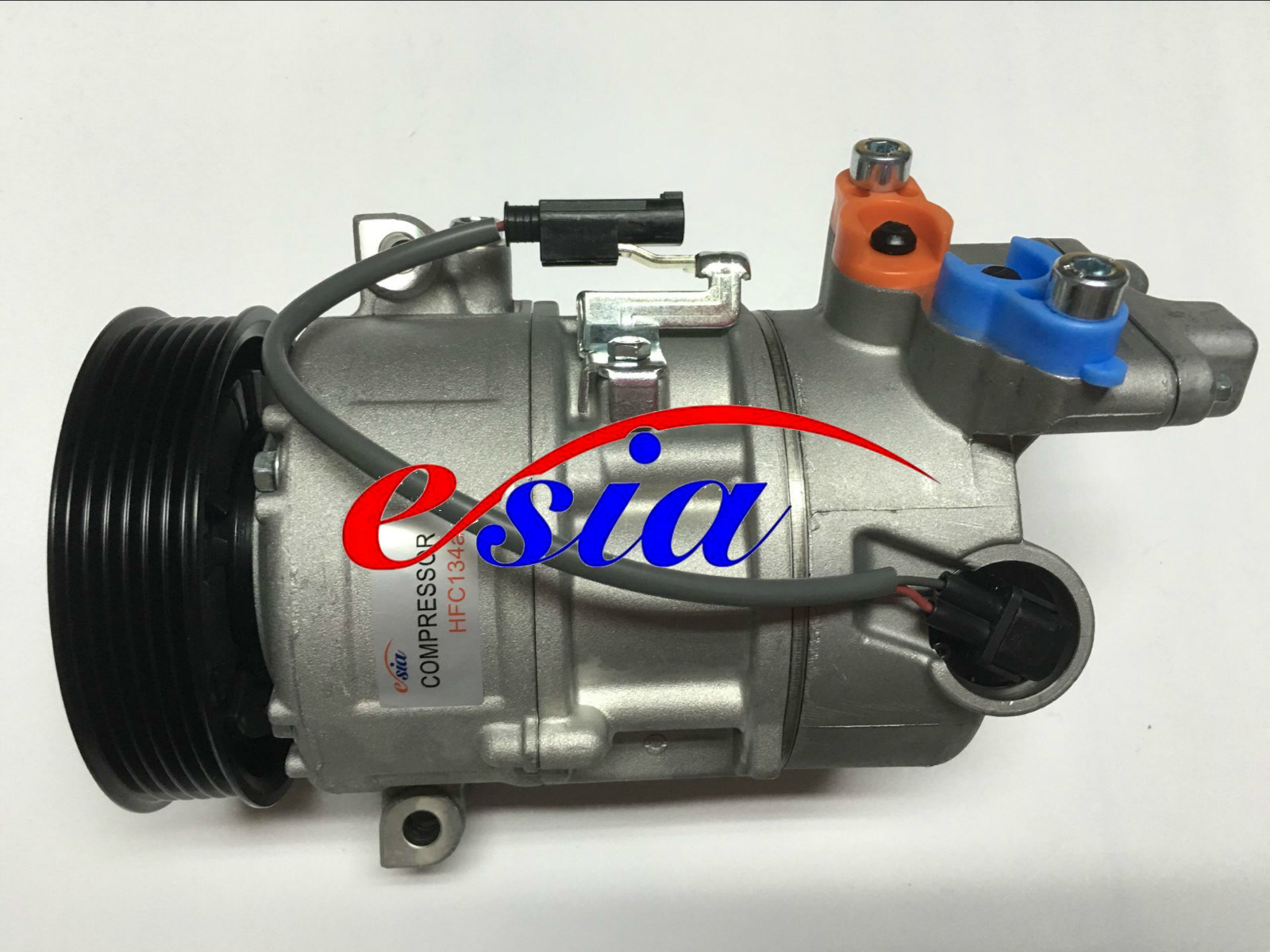 Auto Parts AC Compressor for BMW 6pk Hvcc 123.5mm