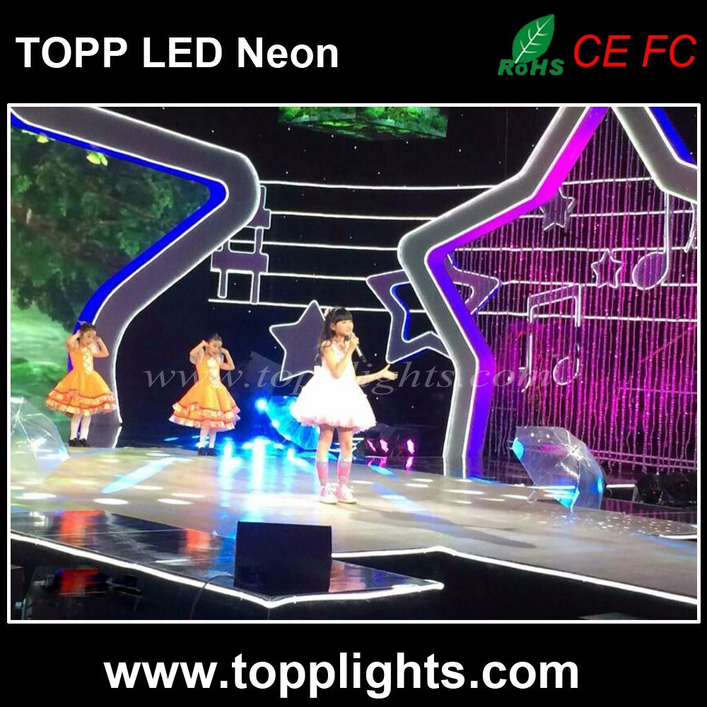 High Brightness Flexible 230V LED Neon Light for TV Station