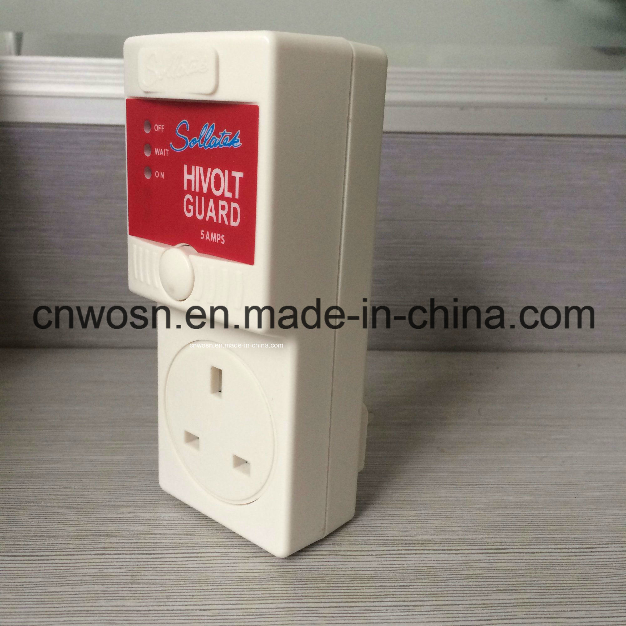 Customize Optional Socket Hivolt Guard AVS 5A Voltage Protector