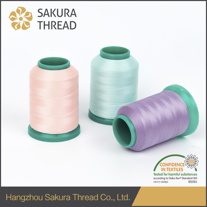 Oeko-Tex100 1 Class 150d Polyester Luminous Thread