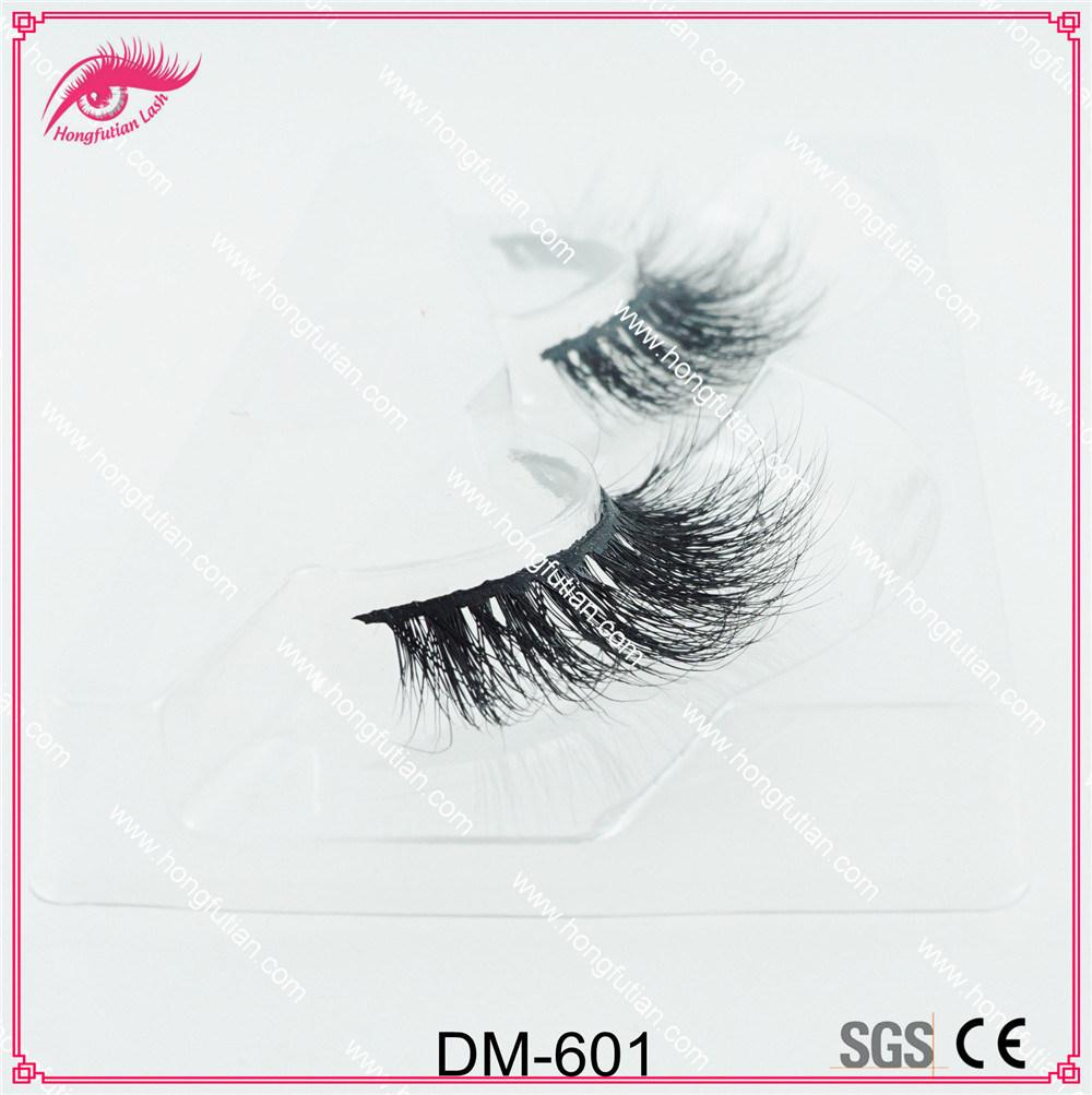 3D Mink Fur Eyelash with Eyelash Packaging Box